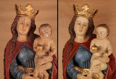 restauration de sculpture